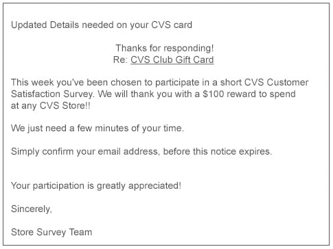 customer email credit card invalid how to respond