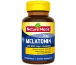 Nature Made Melatonin + with 200mg L-theanine Sofgels, 60CT