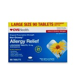 CVS Non-Drowsy Allergy Relief Large Size Tablets
