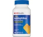 CVS Probiotic Acidophilus Capsules, 100CT