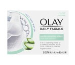 Olay 4-in-1 Daily Facial Cloths, 33CT