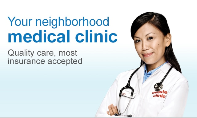 Your neighborhood medical clinic. Quality care, most insurance accepted.
